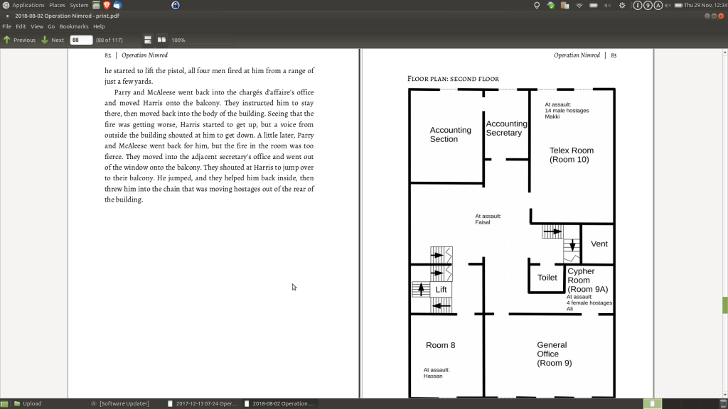 screenshot of double-page spread of standard edition formatting