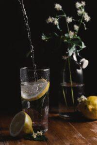 photo of glass with lemon drink by Henry Be via unsplash.com