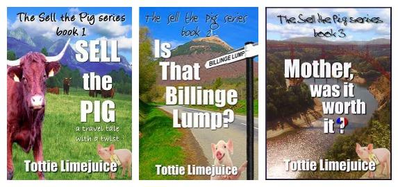 covers of Lesley Tither's 3 Little Pigs books