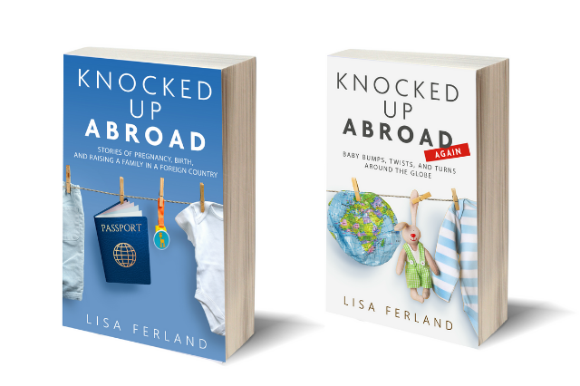 Cover images of Lisa Ferland's books