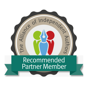 partner member badge - look for this when choosing the companies to distribute self-published books