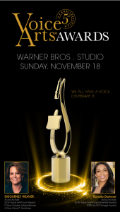 Voice Arts Awards poster