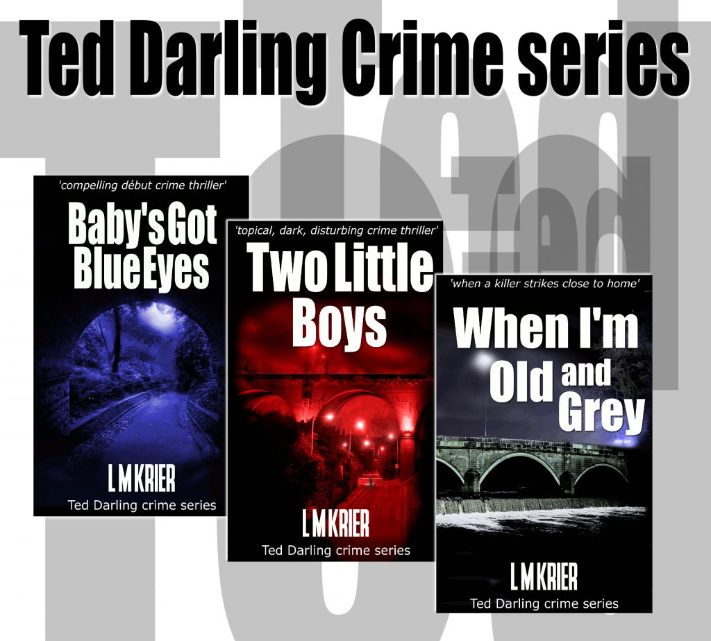 array of Lesley Tither's Ted Darling titles
