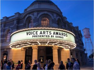 photo of theatre venue of Voice Arts Awards
