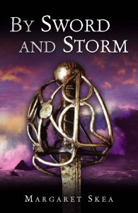 cove of By Sword and Storm by Margaret Skea
