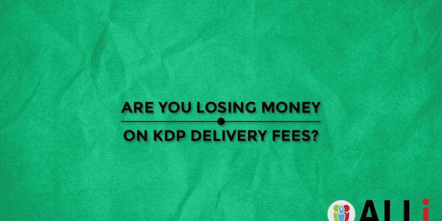 Amazon ebook delivery fees