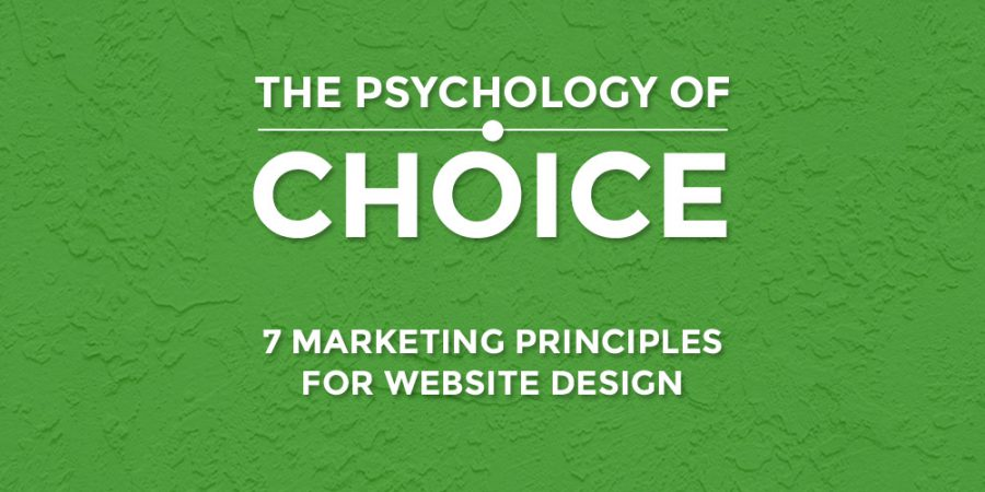 The Psychology Of Choice