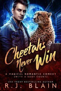 cover of Cheetahs Never Win by RJ Blain