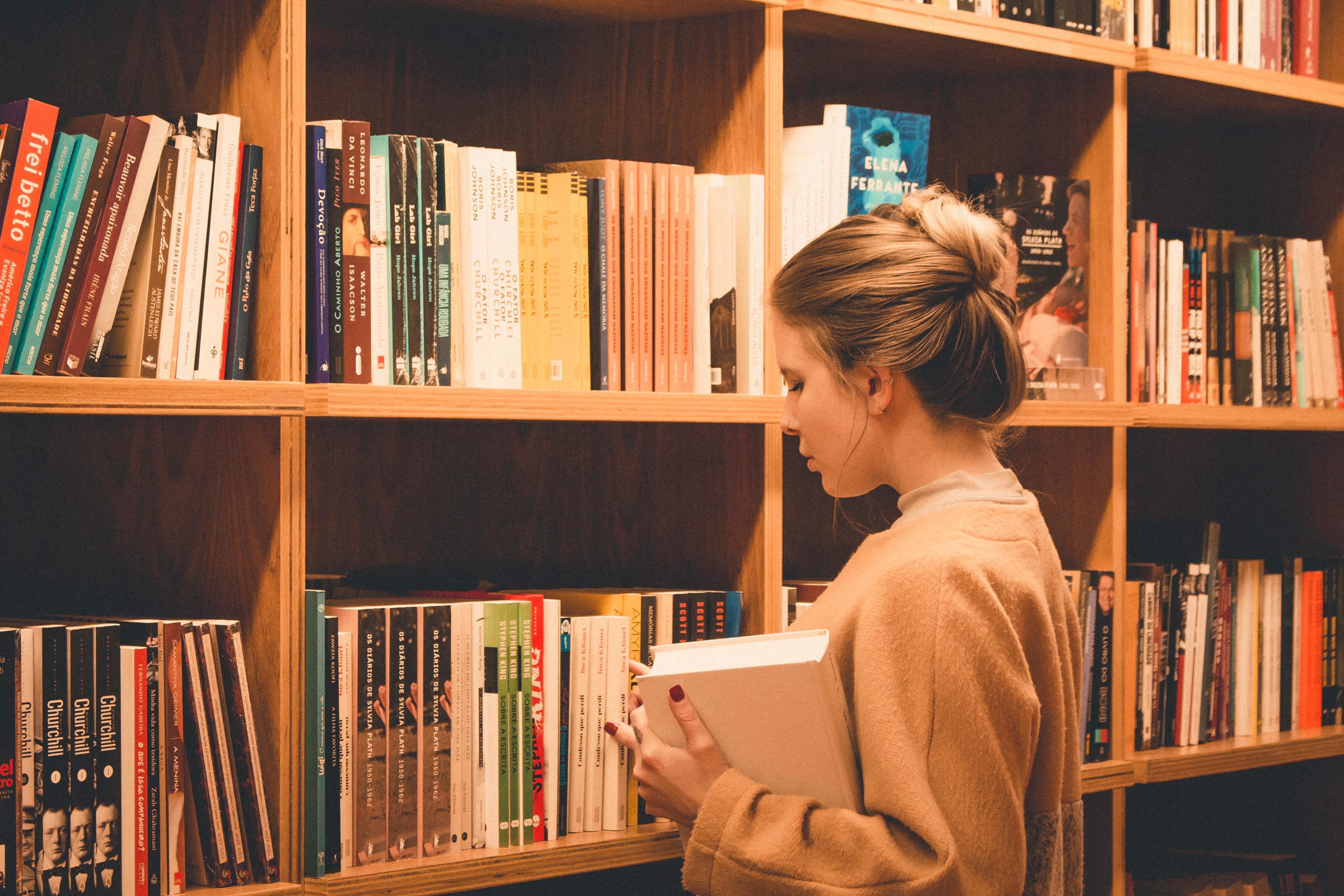 Browisng In A Bookshop