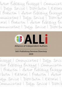 cover of ALLi Self-publishing Services Directory 2019
