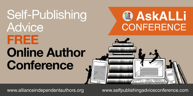 masthead for self-publishing advice conference