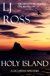 cover of Holy Island by LJ Ross