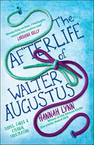 cover of The Afterlife of Walter Augustus, by Hannah Lynn, winner of the 2018 Kindle Storyteller Award