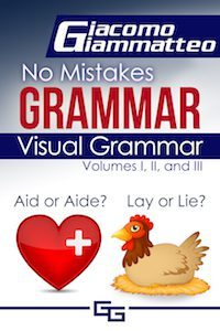 Cover Of No Mistakes Visual Grammar Book