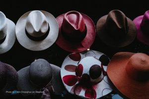 picture of many hats