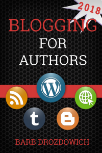 cover of Blogging for Authors by Barb Drozdowich
