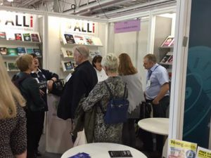 image of busy stand