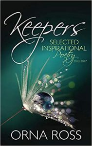 cover of Orna Ross's poetry book Keepers
