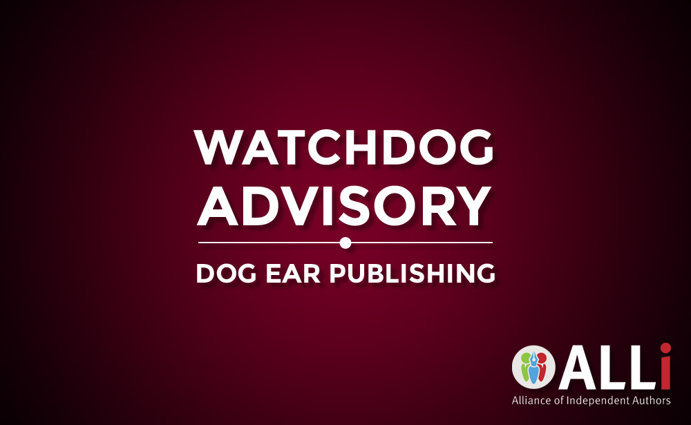 Watchdog Advisory For Dog Ear Publishing