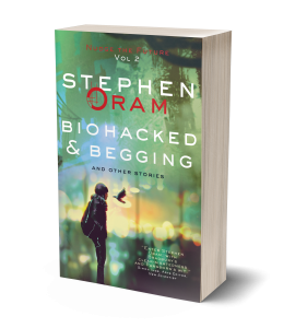 cover of Biohacked and Begging