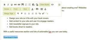 email automation screen grab #10