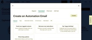 iemail automation screen grab #2