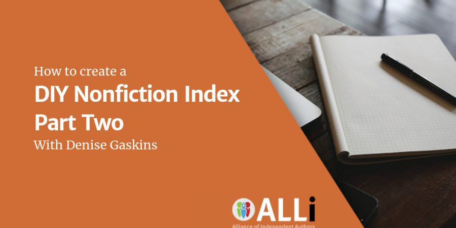 How To Create A DIY Nonfiction Index Part Two