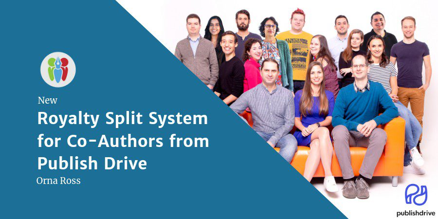 New Royalty Share System For Co-Authors From Publish Drive
