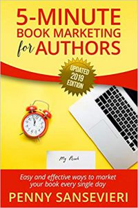 Book Cover for 5 Minute Book Marketing for Authors