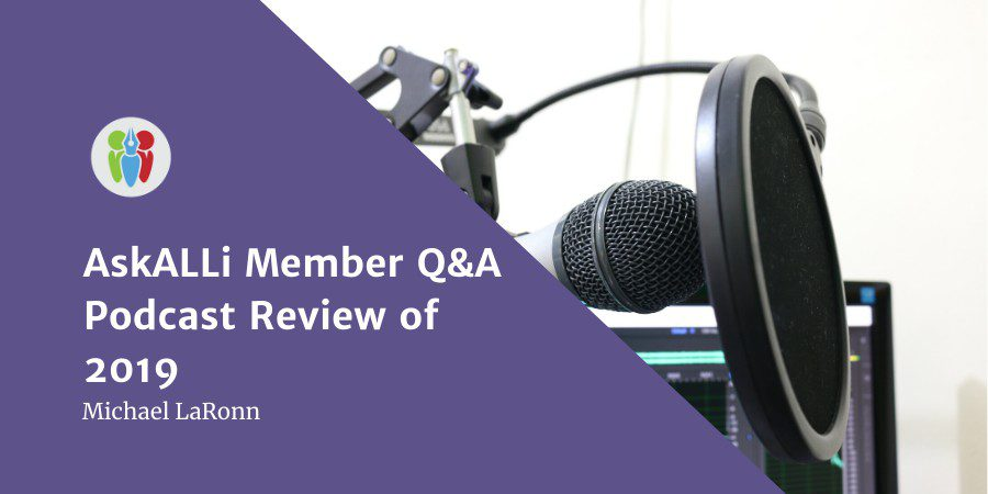 AskALLi Member Q&A Podcast Review Of 2019