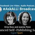The Biggest Self-Publishing Stories Of 2019: AskALLi Advanced Self-Publishing Salon With Orna Ross And Joanna Penn