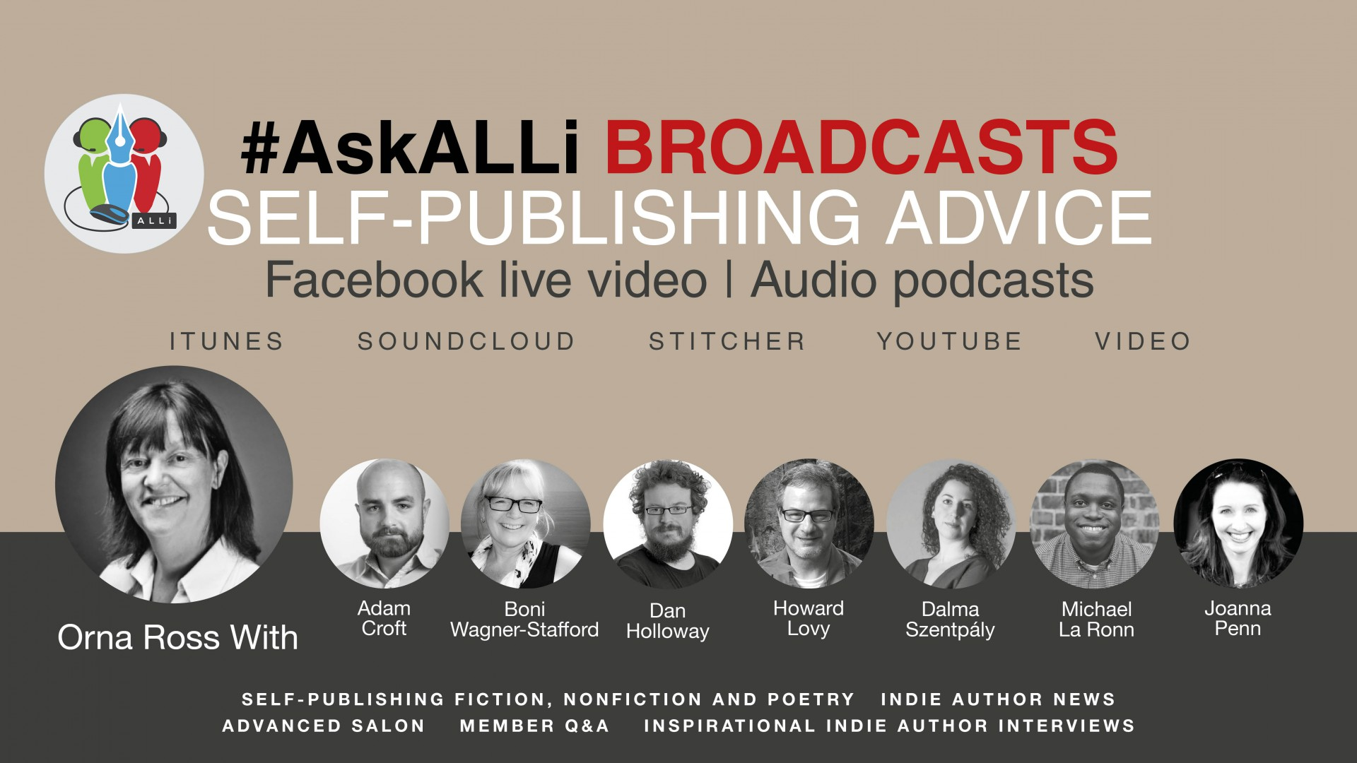#AskALLi Self-Publishing Salons: The Best Podcasts Of 2019