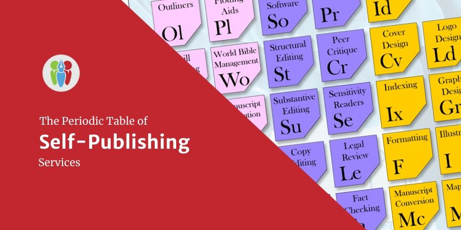 The Periodic Table Of Self-Publishing Services