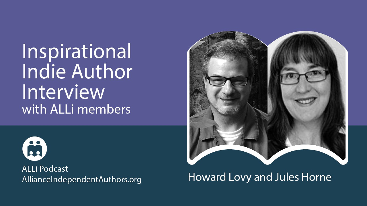 Interview With Jules Horne, Breaking Down Barriers Between Print And Audio: Inspirational Indie Authors Podcast