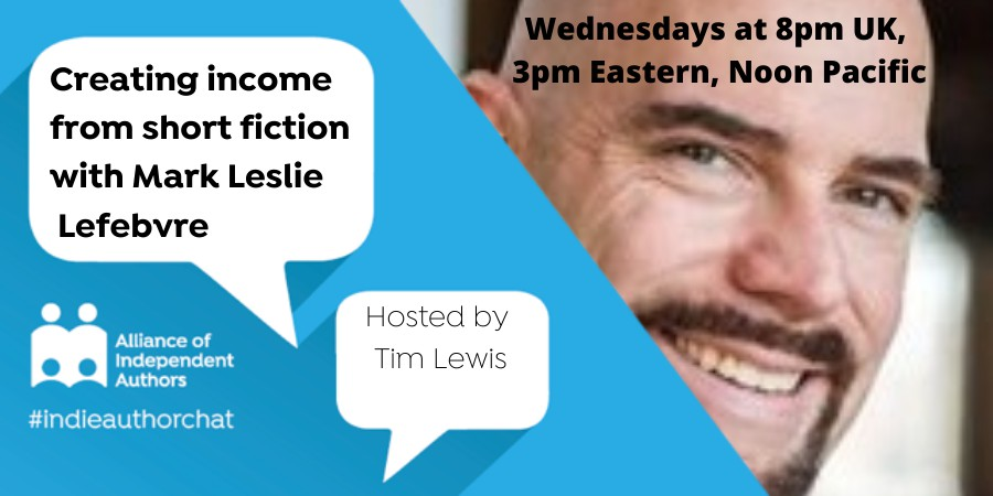 Creating Income From Short Fiction With Mark Leslie Lefebvre
