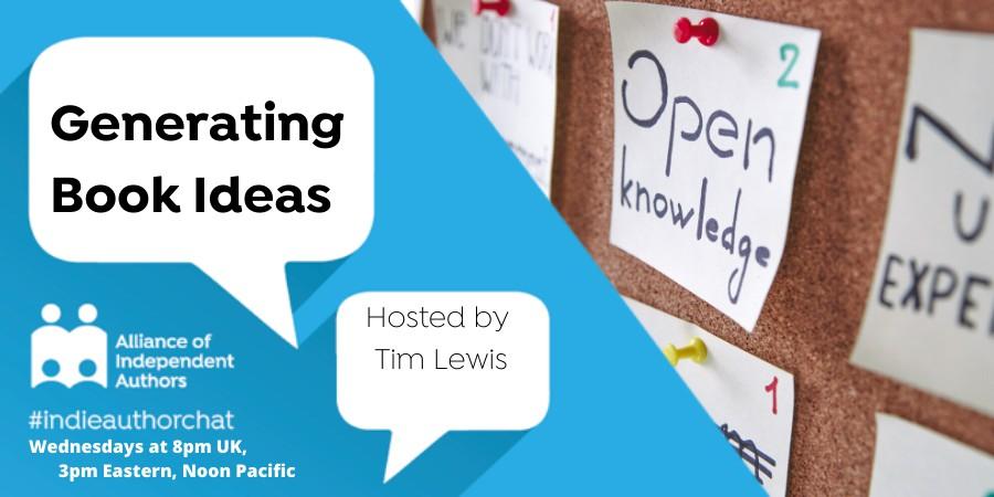 TwitterChat: Generating Book Ideas