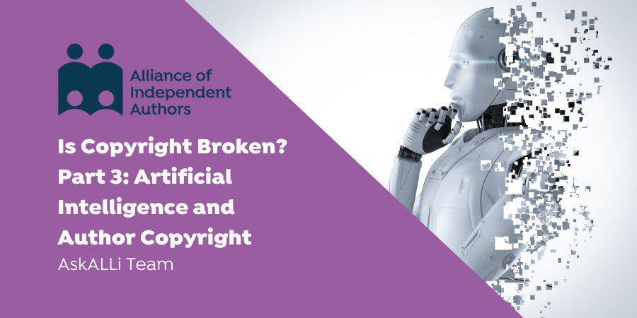 Artificial Intelligence And Author Copyright