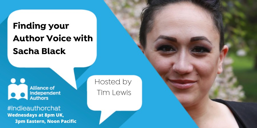 TwitterChat: Finding Your Author Voice With Sacha Black