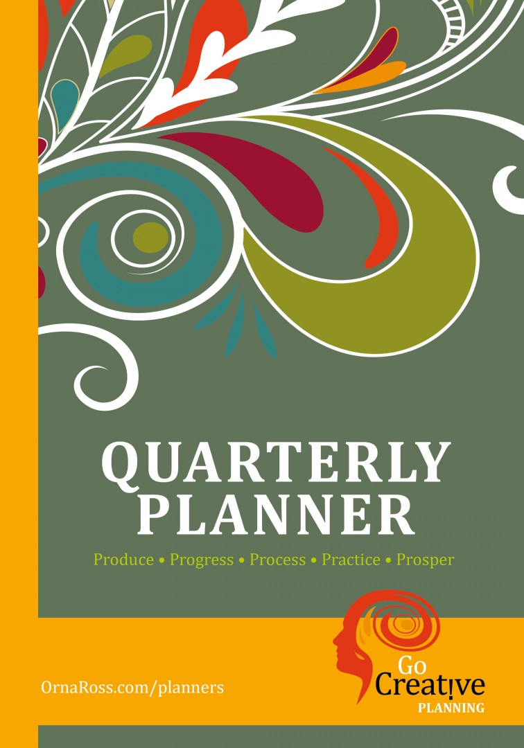 Quarterly Creative Business Planner