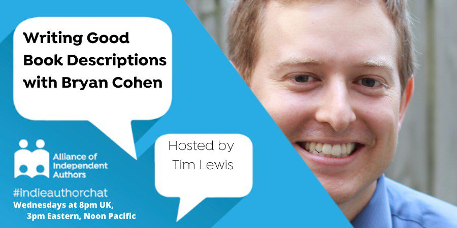 TwitterChat: Writing Good Book Descriptions With Bryan Cohen