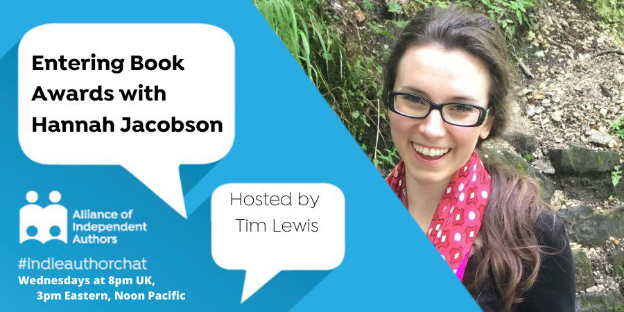 TwitterChat: Entering Book Awards With Hannah Jacobson