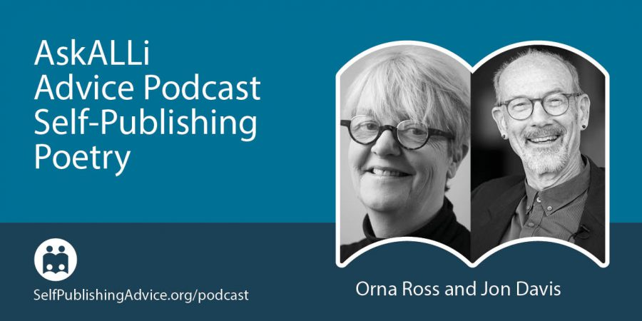 How To Work With A Poetry Editor: What Poets Need To Know, With Orna Ross—Self-Publishing Poetry Podcast