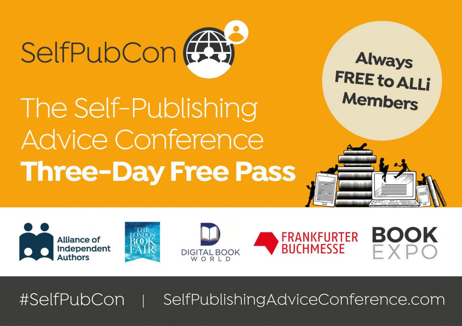 #SelfPubCon: The Self-Publishing Advice Conference