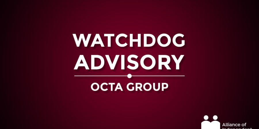OctaLogo Watchdog Advisory Image