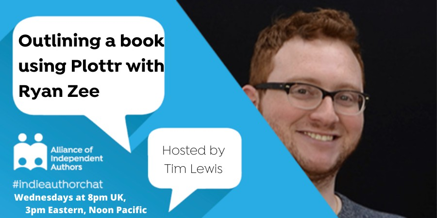 TwitterChat: Outlining A Book Using Plottr With Ryan Zee