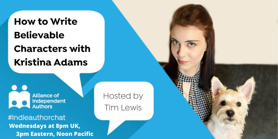 TwitterChat: How To Write Believable Characters With Kristina Adams