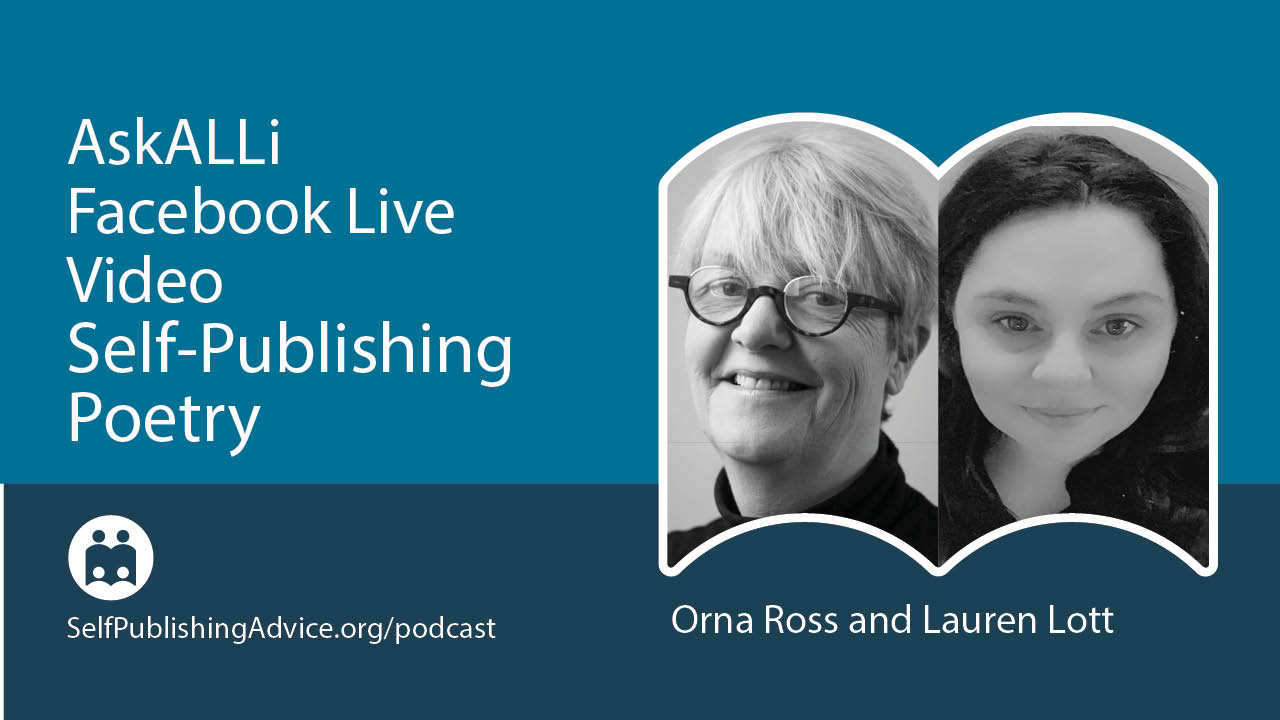 LIVE: Launching A First Poetry Book: Lessons From A New Self-Published Poet