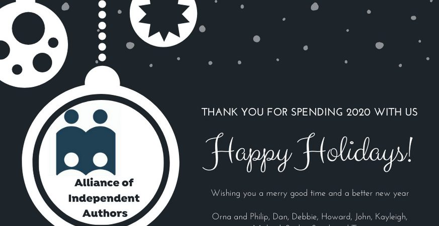 Happy Holidays From All At The Alliance Of Independent Authors
