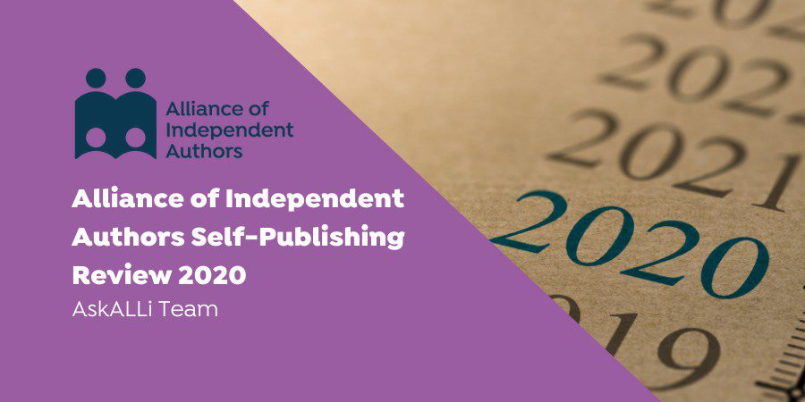 Alliance Of Independent Authors Self-Publishing Review 2020