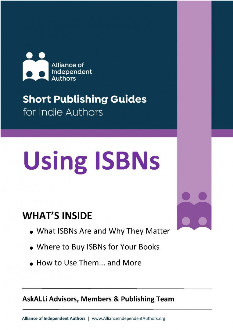 Using ISBNS For Your Self-published Books